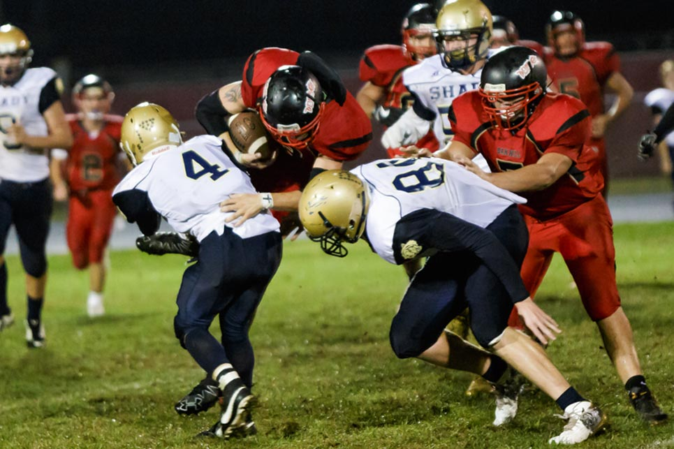 football shady at oak hill
