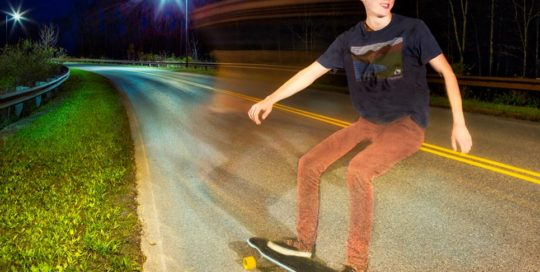 high school senior brin longboard