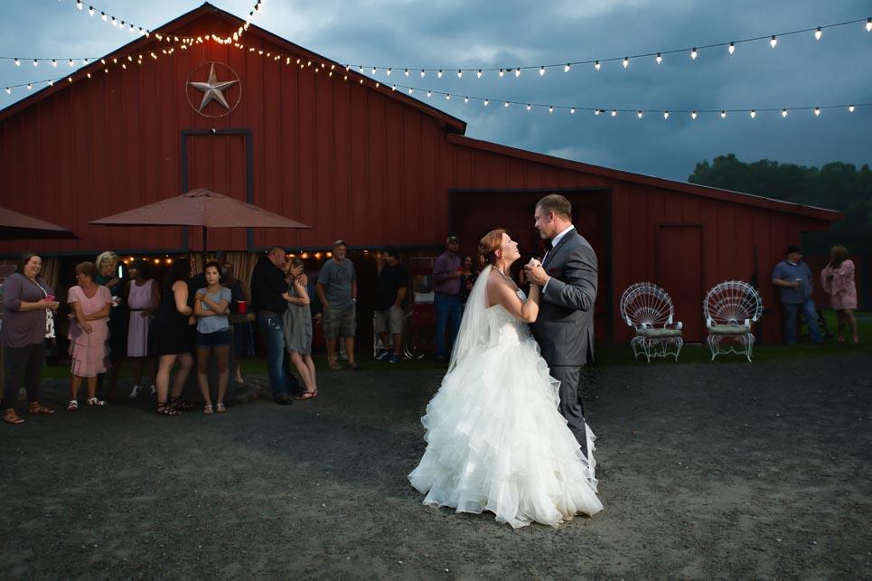 Wedding Rustic Outdoor Carmen First Dance