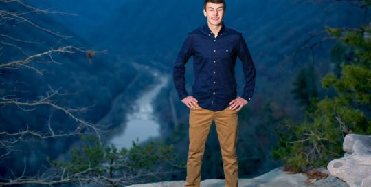High School Senior Portrait Dillon Gorge