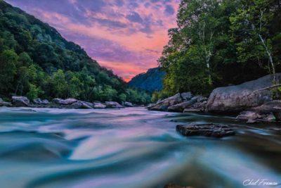 landscape photography river rapid