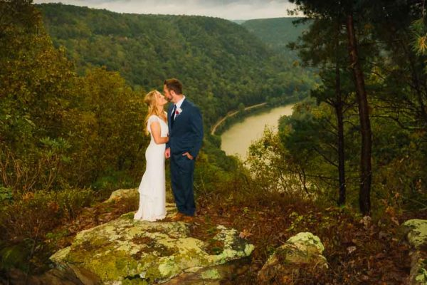 wedding outdoor new river gorge