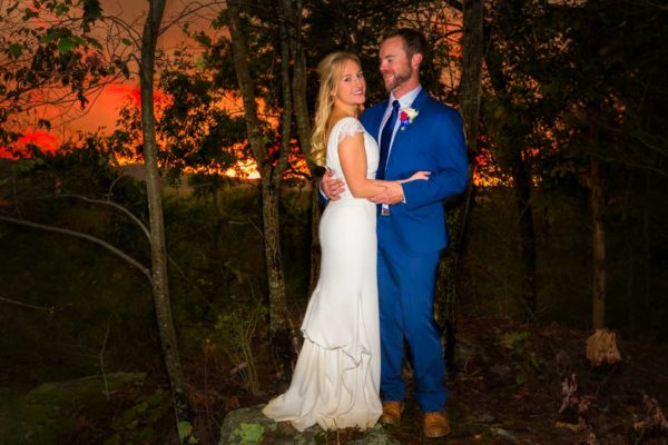 Wedding Outdoor New River Sunset
