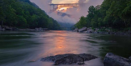 new river gorge bridge storms