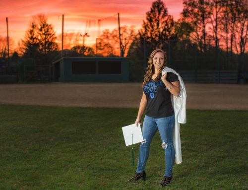 Faith Cap and Gown Sunset Softball
