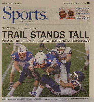 sports football patriots newspaper