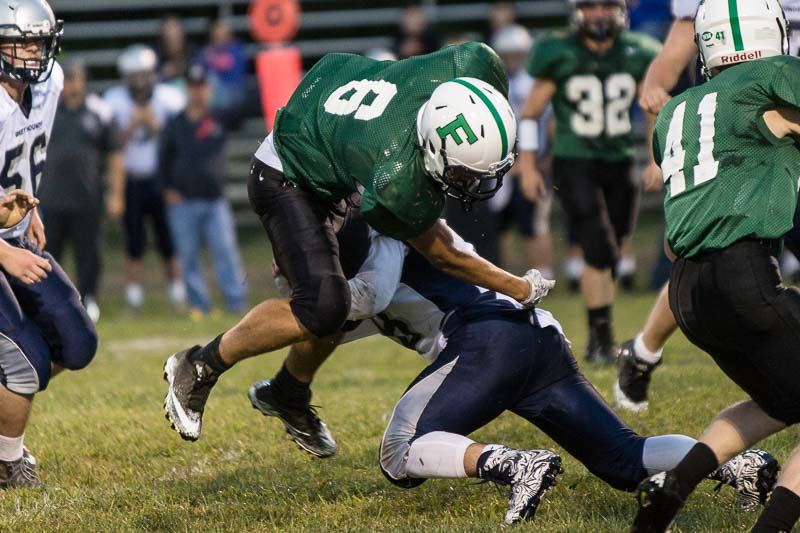 football high school fayetteville big hit