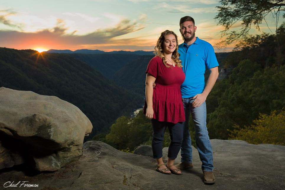 engagement photography wv kaisha
