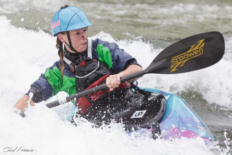crystal gustin kayak surf gauley