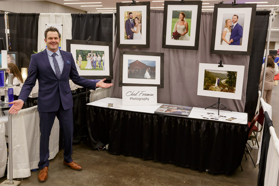 Charleston wedding expo chad foreman