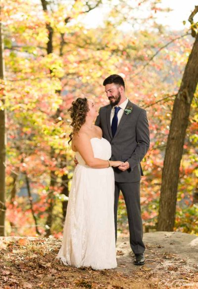 outdoor west virginia wedding portrait session