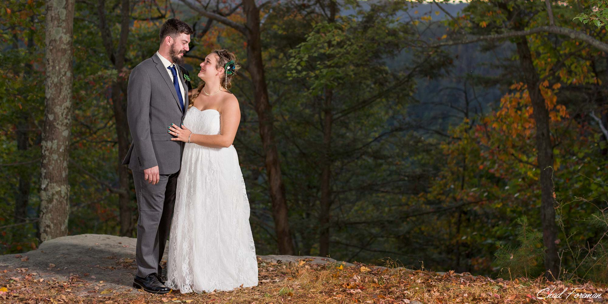 Wedding New River Gorge, WV