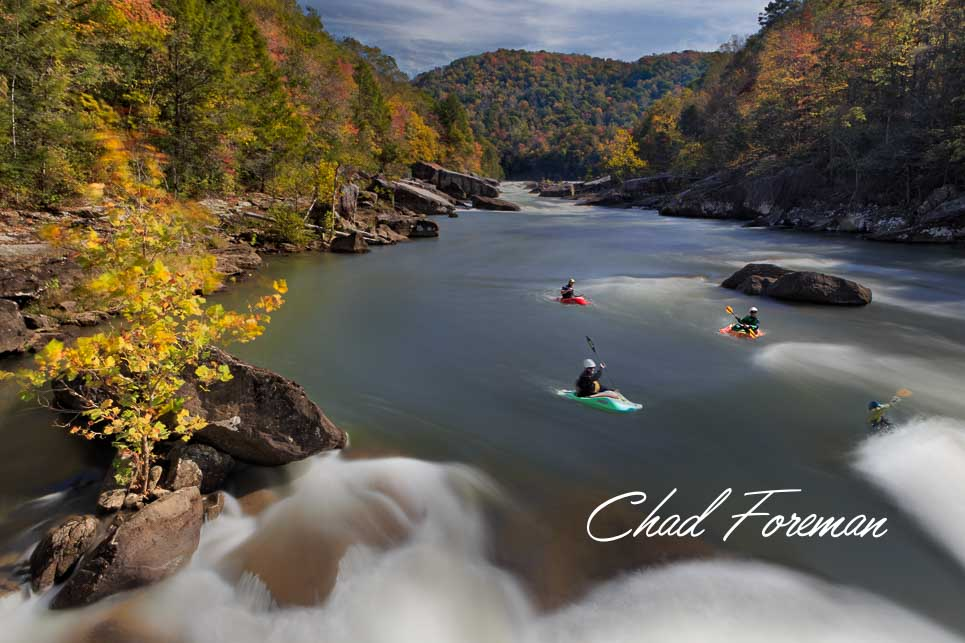 Upper Gauley Autumn Leaves Lost Paddle Rapid
