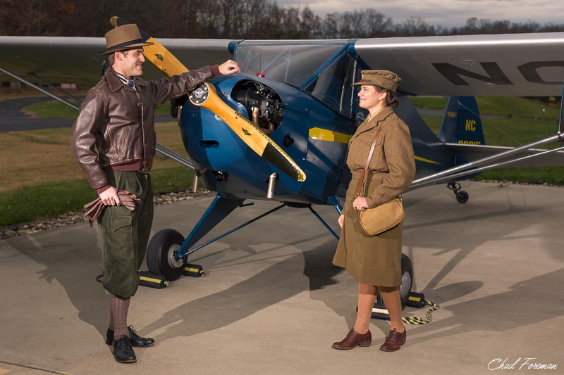 historic airplane photography