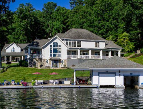 Melton Lake House at Flat Top Lake Water View