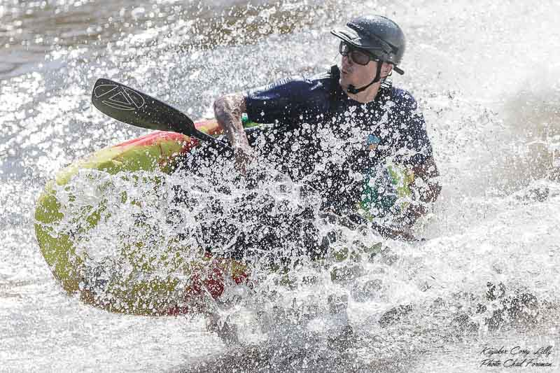 Corey Lilly freestyle kayaker