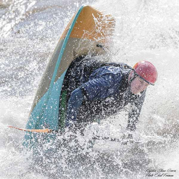 whitewater kayaking Shane Groves