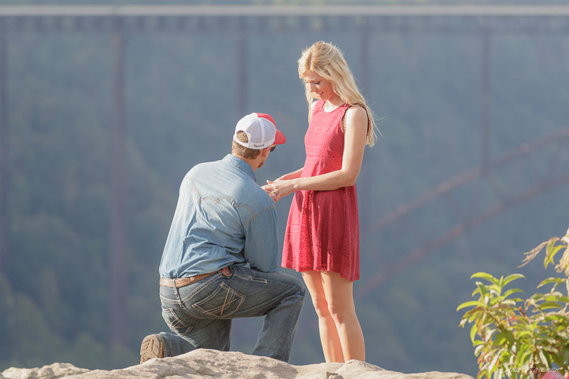 engagement photography shoot new river gorge 2