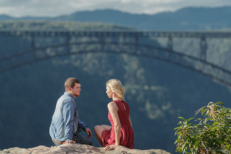 engagement photography shoot new river gorge 3