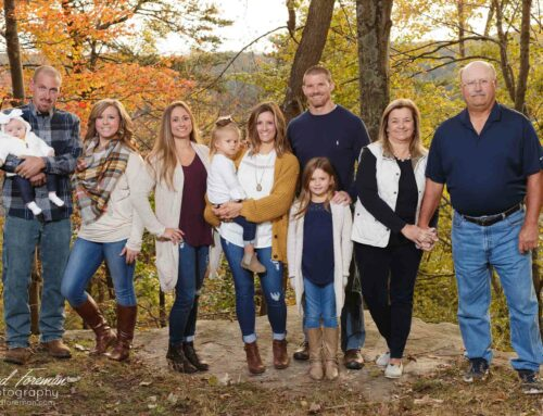 Epperly Family Outdoor Portrait Session