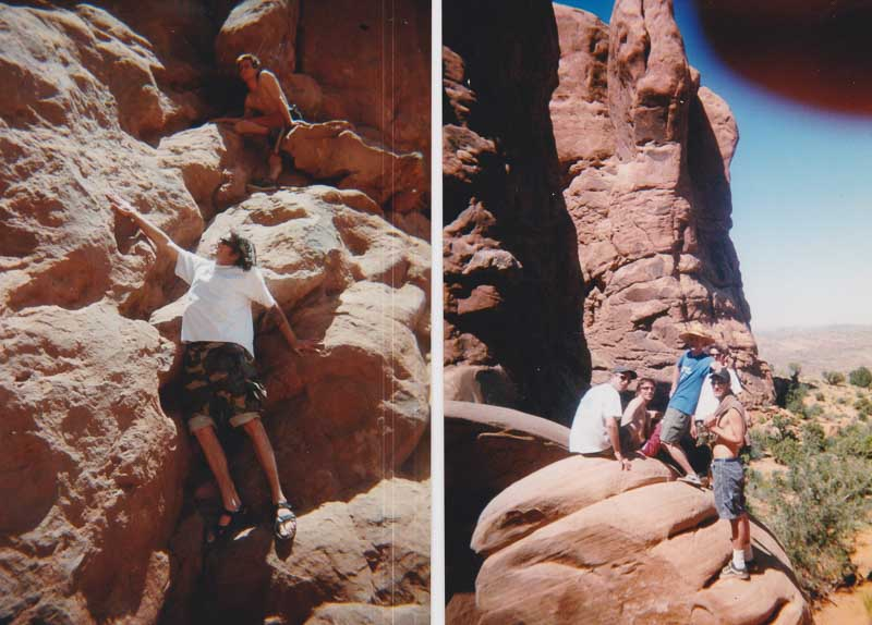 Arches National Park in 1998.