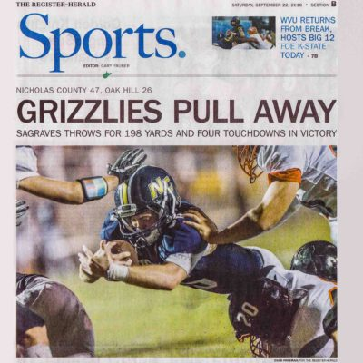 sports photography portfolio football newspaper