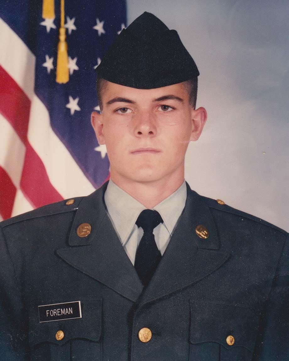 Chad Foreman US Army 1991