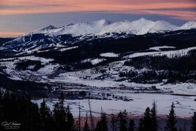 landscape photography breckenridge sunrise