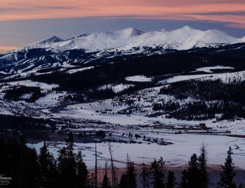 Sunrise in Breckenridge, Colorado