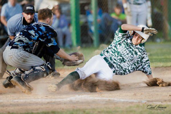 sports photography baseball safe at home