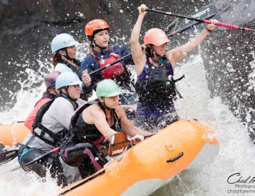 Gauley River Raft Racing