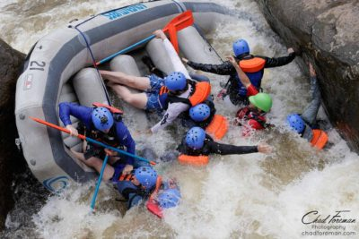 adventure sports tourism, whitewater rafting photography