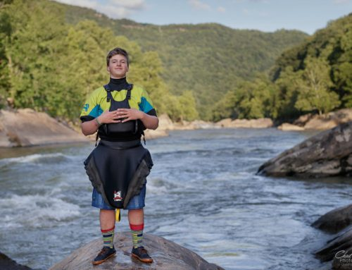 River Athlete Portrait