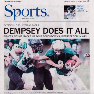sports photography portfolio newspaper dempsey