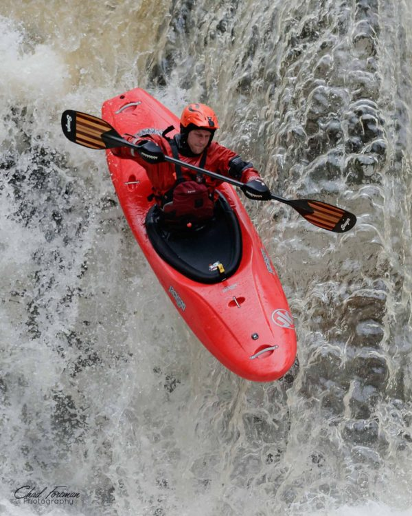 Nick Parsons drops Dry Line Falls on Mill Creek