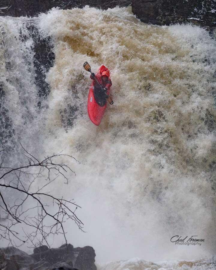 Nick Parsons on Captain Crunch Falls