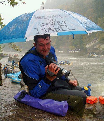 chad foreman video kayaker gauley river