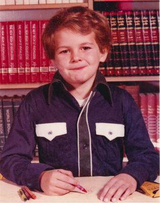 Chad Foreman Montrose Kindergarten. 1979