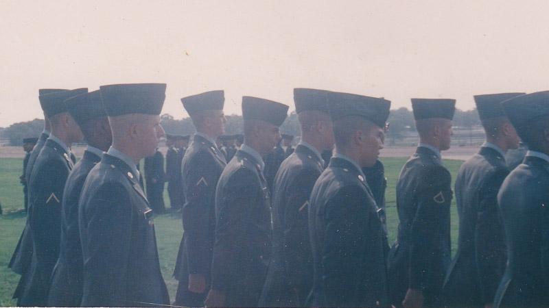 Chad Foreman US Army BCT Graduation