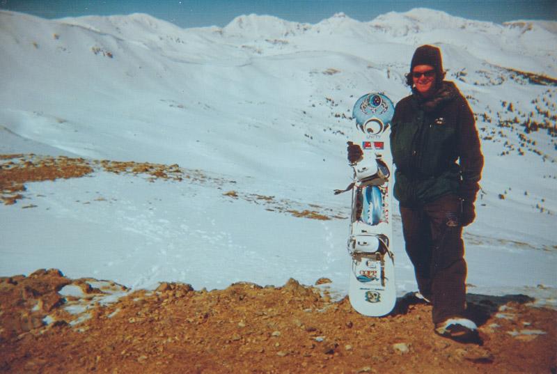 Loveland Pass Snowboarding Chad Foreman. 1998