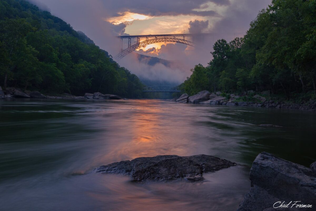 New River Gorge Photography by Chad Foreman